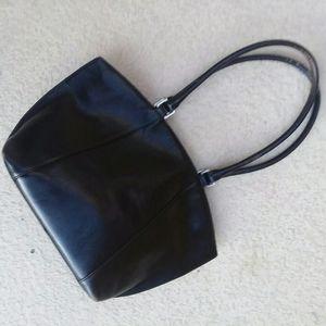HOBO INTERNATIONAL  Black Leather Handbag Tote
